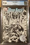 Moon Knight Rare Cgc Graded 9.6 2006 20 Bandw Sketch Cover Variant Lot