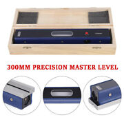 12in Master Precision Level In Fitted Box For Machinist Tool 0.0002''/10'' Ca