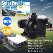 72v Dc Brushless Water Pump Solar Water Pump For Fountain Pool 20000l/h 88gpm