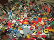 Lego 35 Lbs Parts And Pieces Huge Bulk Lot Airplane Military Books Sets