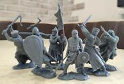 Collectible Plastic Toy Soldiers Publius Knight Crusader Set 132 54 Mm