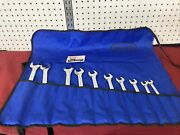 """10pc Williams Superrench Sae Combination Wrench Set 7/16""""-1"""" Usa Made"""