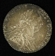 1787 Great Britain 1 Shilling George Iii - Free Shipping Usa