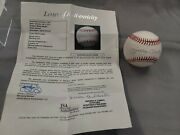 Mickey Mantle Auto Signed Official League Ball Baseball Jsa Fully Certified