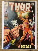 The Mighty Thor 165/silver Age Marvel Comic Book/1st Full Warlock/fn