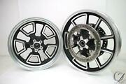 14 Harley Dyna Low Rider Fxdl Front Rear Rim Wheel Set Outright
