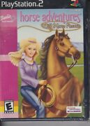 Barbie Horse Adventures Wild Horse Rescue 2003 Playstation Game New