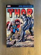 New Thor Epic Collection - Vol. 4 The Wrath Of Odin - Marvel - Rare Oop Tpb