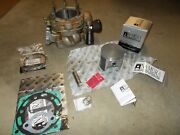 1995 Polaris 400l Used Honed Cylinder / New Piston Rings Wrist Pin Rings Gaskets