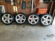 Andnbspa Set Of Four Gm Accessory Wheels With Center Caps And Tires Like Newandnbsp