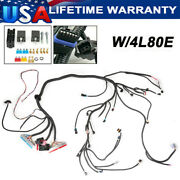 Fuel Inj. Standalone Wiring Harness W/4l80e For 1997-2006 Ls1 Engine 4.8 5.3 6.0