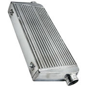 Turbo Intercooler Universal Aluminum 30.5x 12x 4 3 Inlet/outlet 400-800hp+