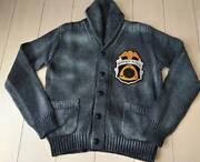 The Real Mccoy's Toys Mccoy Shawl Collar Cotton Cardigan 38 Made In Japan _4864