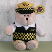 Starbucks Joe Taxi New York City Bearista 2005 Special Edition With All Tags Htf