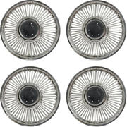 1964-1965 Mustang 14 Style Knock-off Wheel Cover Set 4 Pieces