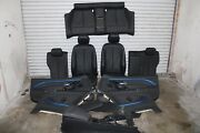 Bmw F32 428 435 Coupe Complete Interior Leather Sport Heated Seat Set Oem 67k