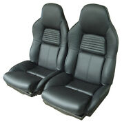 94-96 Corvette Mounted Standard Leather Seat Covers New Pick Color 4470__