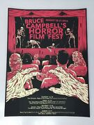 Bruce Campbell's Horror Film Festival 2016, Comic Con Chicago, Lithograph Poster