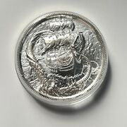 2 Oz Silver The Kraken Privateer High Relief Round New
