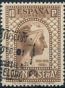 Spain - Mailing Year 1931 - Number 00648 - 10 Ptas. Centering De Luxe Us