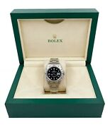 Rolex Explorer Ii Black Dial 16570 Stainless Steel With Box