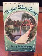 Vintage 1948 Silver Springs, Florida Travel Brochure Pin Up Lady Cover Rare