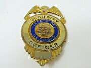 Security Officer State Of Georgia Pin Heavy Nice Quality Badge Design