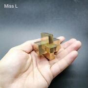 9 Pillars Cross Structure 3d Puzzle Game Brain Teaser Toy Chinese Kong Ming Lock