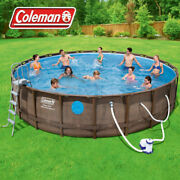 ✅coleman Power Steel 22and039x52 Above Ground Swimming