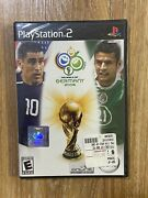 New Sealed Fifa World Cup Germany 2006 - Playstation 2 Ps2 Game Free Fast Ship