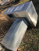 6andrsquo Foot Exhaust Hood Vent Commercial Restaurant Kitchen Stainless Steel Used
