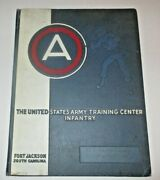 1956 Us Army Training Center Infantry Yearbook - Fort Jackson, South Carolina