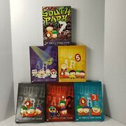 South Park 6 Seasons 1 2 3 4 5 And 7 Dvd Lot 18 Dvdand039s Comedy Central Complete