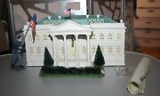 Vtg. Dept.56 2001 White House American Pride Collection And Free Figurine