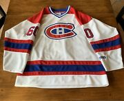 Montreal Canadians Jose Theodore 60 Jersey Nhl Ccm Sz L Never Worn Vintage 1999