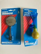 Vintage Bikextras Safety Mirror And Bicycle Horn
