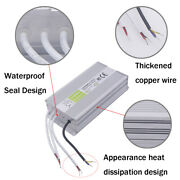 Waterproof Ac- Dc 12v Outdoor Transformer Power Supply Adapter Led Light Driver