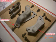 Air Conditioning A/c Compressor Mounting Brackets 472 500 69 - 73 Cadillac