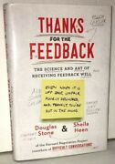 Thanks For The Feedback The Science And Art Of Receiving Fee By Heen, Sheila Hc
