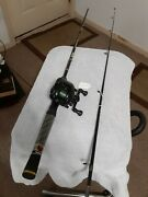 Baitcasting Fishing Rod Rhino 6and03915lb Med And Reel Southbend Lot D36