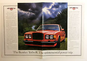 1989 Bentley Turbo R Ad - Must See