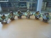 Beswick - Vintage Monkey Band Figures - Full Set Of 6 - Excellent Condition