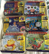 Lot Of 6 Leap Frog My First Leappad System Books/cartridges Games Leap Pad