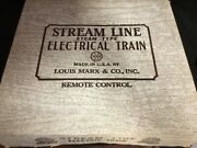 Vintage Marx Streamline Steam/electric Train In Box With Never Used Mth Transfo