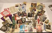 Catholic Lot Holy Prayer Cards, Bookmarks, Rosaries, Medals, Memorial Cards