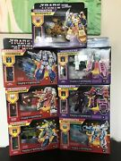 Transformers G1 Reissue Headmasters Wave 1 And 2 Lot Walmart Exclusive