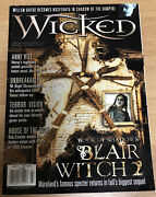 Wicked Horror Magazine Fall 2000 Anne Rice Blair Witch Rob Zombie Buffy Vampire