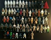Star Wars Vintage Lot Kenner Collection 1977-1984 X66 Action Figures In All