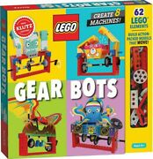 Lego Gear Bots By Klutz, Free Expedited Shipping