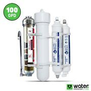 6 Stage Counter Top Reverse Osmosis Alkaline/orp Neg Water System 100 Gpd